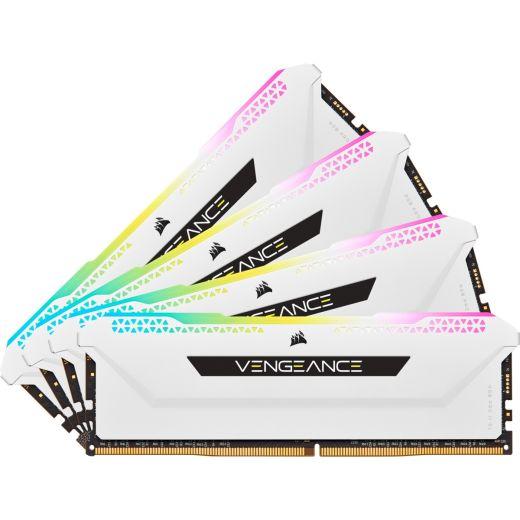 Corsair Vengeance RGB Pro SL 32GB (4 x 8GB) DDR4 3200MHz Memory CMH32GX4M4E3200C16W