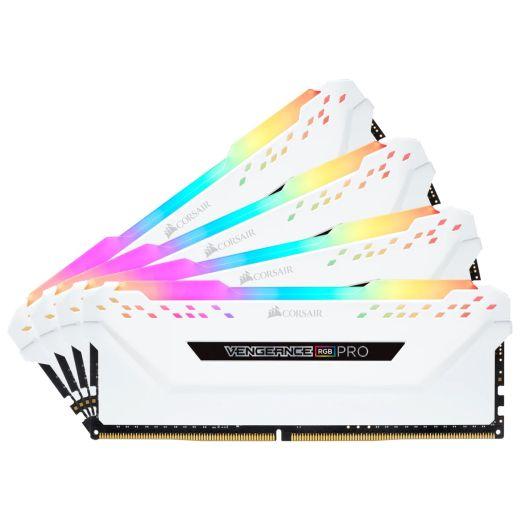 Corsair Vengeance RGB Pro 32GB (4 x 8GB) DDR4 3200MHz Memory CMW32GX4M4C3200C16W