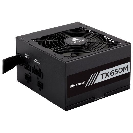 Corsair TX-M Series TX650M 650W 80Plus Gold Semi Modular Power Supply CP-9020132-NA