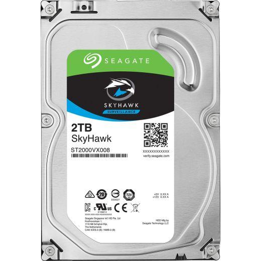 "Seagate SkyHawk 2TB 3.5"" SATA 6.0Gb/s HDD ST2000VX008"