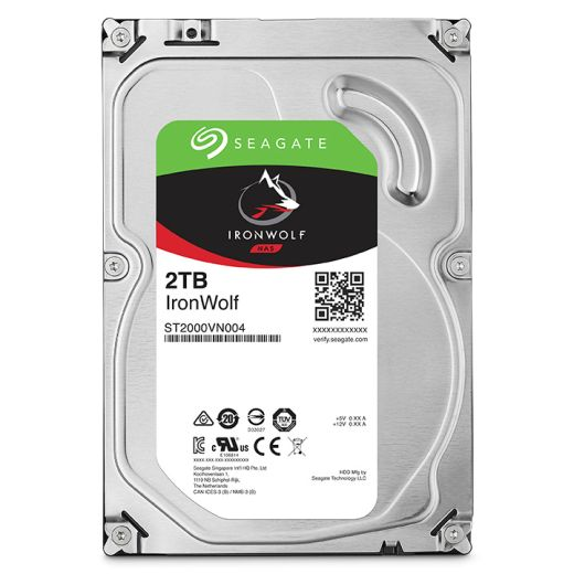 "Seagate IronWolf 2TB 3.5"" SATA HDD ST2000VN004"