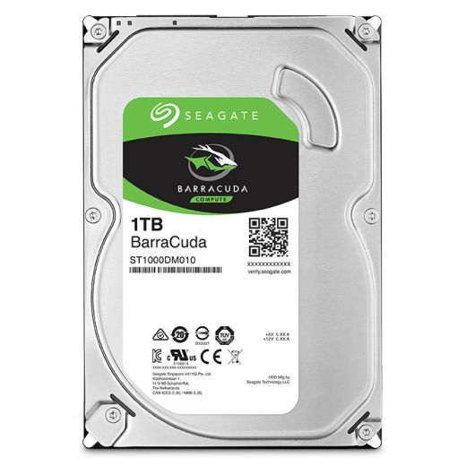 "Seagate BarraCuda 1TB 3.5"" SATA 6.0Gb/s HDD ST1000DM010"