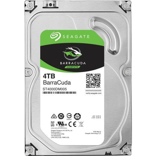 """Seagate BarraCuda 4TB 2.5"""" SATA 6.0Gb/s HDD ST4000LM024"""
