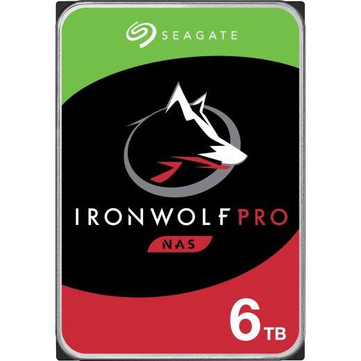 "Seagate IronWolf Pro 6TB 3.5"" SATA 6.0Gb/s HDD ST6000NE000"