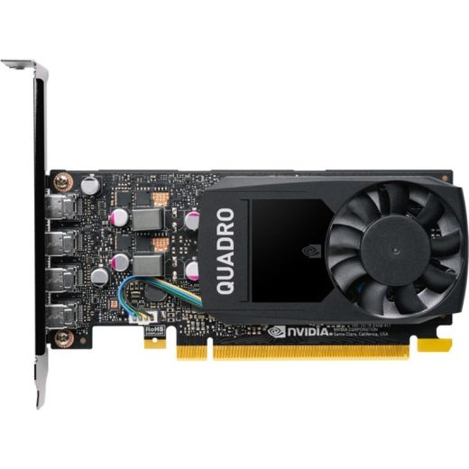 PNY NVIDIA Quadro P1000 4GB GDDR5 Video Card VCQP1000V2-PB