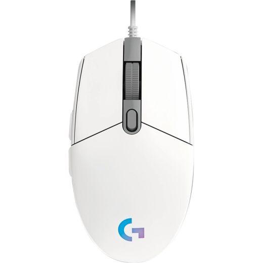 Logitech G203 LIGHTSYNC White Gaming Mouse 910-005791