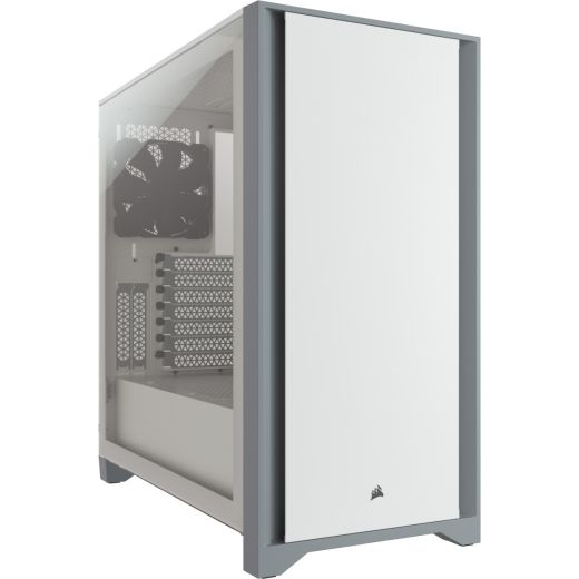 Corsair 4000D Tempered Glass White Mid Tower Case CC-9011199-WW