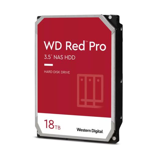 """Western Digital Red Pro 18TB 3.5"""" SATA 6.0Gb/s NAS HDD WD181KFGX"""