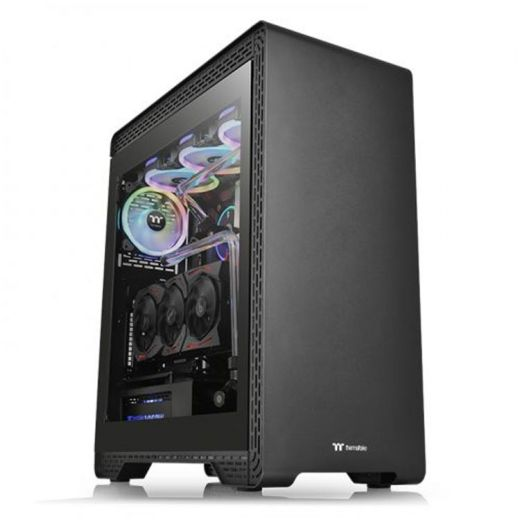 Thermaltake S500 Tempered Glass Mid Tower Case CA-1O3-00M1WN-00