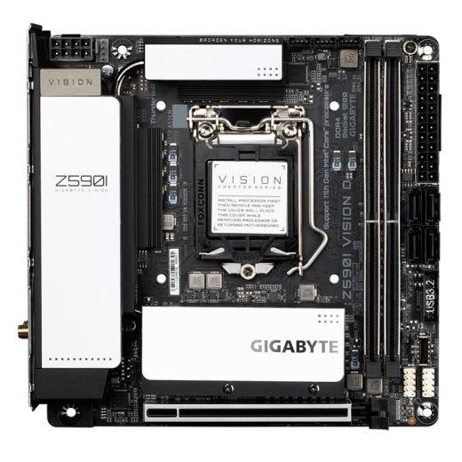 Gigabyte Z590I VISION D LGA1200 DDR4 Motherboard Mini ITX