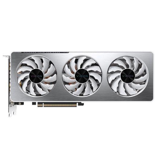 Gigabyte GeForce RTX 3060 Ti VISION OC 8GB GDDR6 with LHR Video Card GV-N306TVISION OC-8GD R2