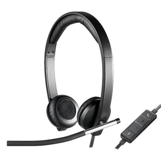 Logitech H650E USB Headset 981-000518