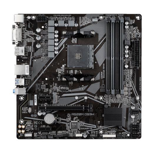 Gigabyte A520M DS3H AM4 DDR4 Motherboard MATX