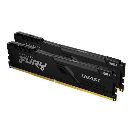 Kingston FURY Beast 32GB (2 x 16GB) DDR4  2666MHz Memory KF426C16BBK2/32