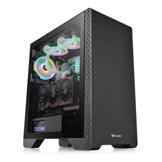 Thermaltake S300 Tempered Glass Mid Tower Case CA-1P5-00M1WN-00