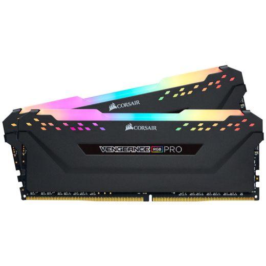 Corsair VENGEANCE RGB PRO 32GB (2 x 16GB) DDR4 3600MHz Memory CMW32GX4M2D3600C18