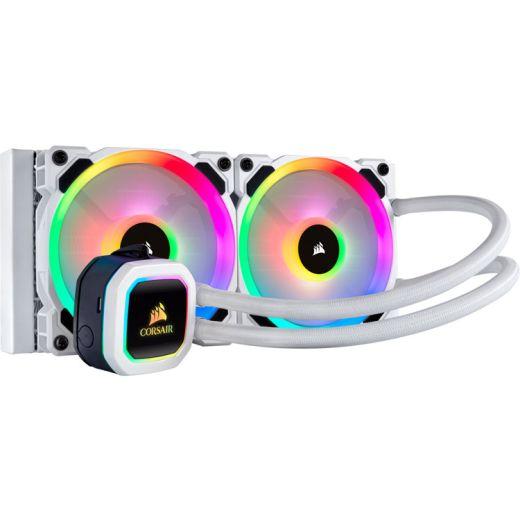 Corsair Hydro Series H100i RGB PLATINUM SE 240mm Intel/AMD Liquid CPU Cooler CW-9060042-WW