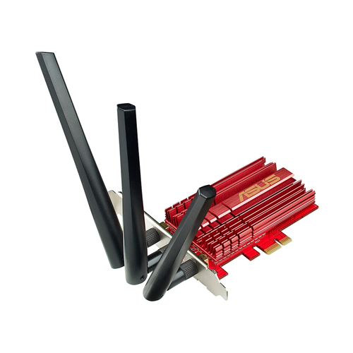 Asus 3x3 802.11ac Wifi AC1900 PCIe Adapter PCE-AC68