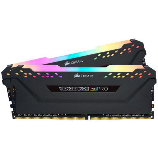 Corsair Vengeance RGB Pro 16GB (2 x 8GB) DDR4 3200MHz Memory CMW16GX4M2C3200C14