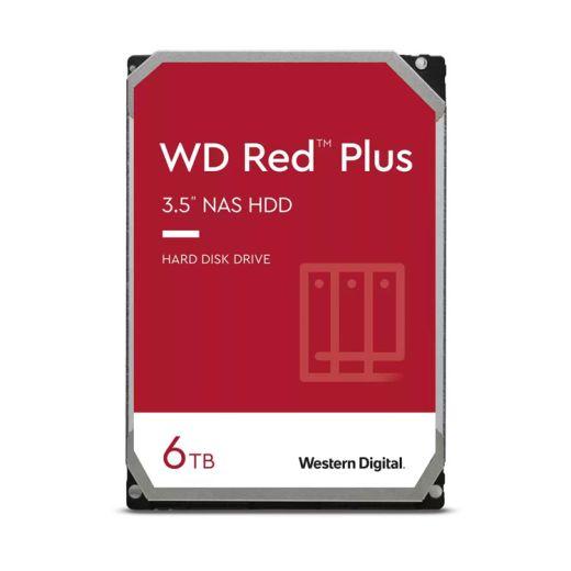 """Western Digital Red Plus 6TB 3.5"""" SATA 6.0Gb/s HDD WD60EFZX"""