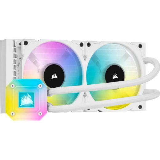 Corsair iCUE H100i ELITE White CAPELLIX Liquid CPU Cooler CW-9060050-WW