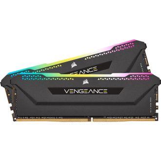 Corsair Vengeance RGB Pro SL 32GB (2 x 16GB) DDR4 3200MHz Memory CMH32GX4M2E3200C16