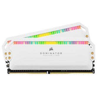 Corsair Dominator Platinum RGB 16GB (2 x 8GB) DDR4 3200MHz Memory CMT16GX4M2Z3200C16W