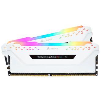 Corsair Vengeance RGB Pro 16GB (2 x 8GB) DDR4 3200MHz Memory CMW16GX4M2C3200C16W