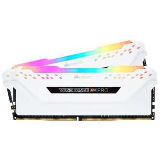 Corsair Vengeance RGB Pro 16GB (2 x 8GB) DDR4 3600MHz Memory CMW16GX4M2D3600C18W