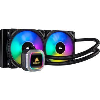 Corsair Hydro Series H100i RGB PLATINUM 240mm Intel/AMD Liquid CPU Cooler CW-9060039-WW
