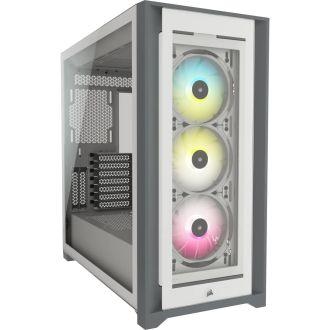 Corsair iCUE 5000X RGB Tempered Glass Mid-Tower Case CC-9011213-WW