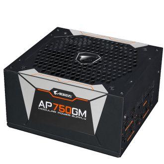Gigabyte AORUS P750W 750W 80Plus Gold Fully Modular Power Supply GP-AP750GM