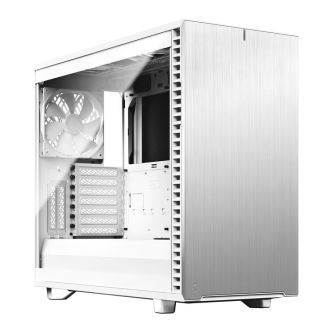 Fractal Design Define 7 Clear Tempered Glass White Mid Tower Case FD-C-DEF7A-06