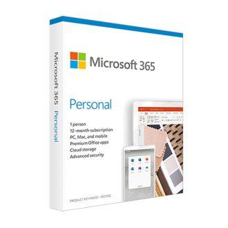 Microsoft 365 Personal 1PK 12Month English Medialess